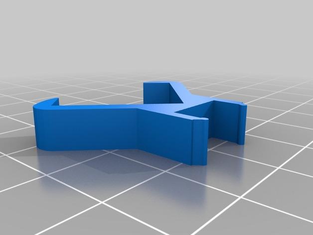 宜家灯夹 3D打印模型渲染图