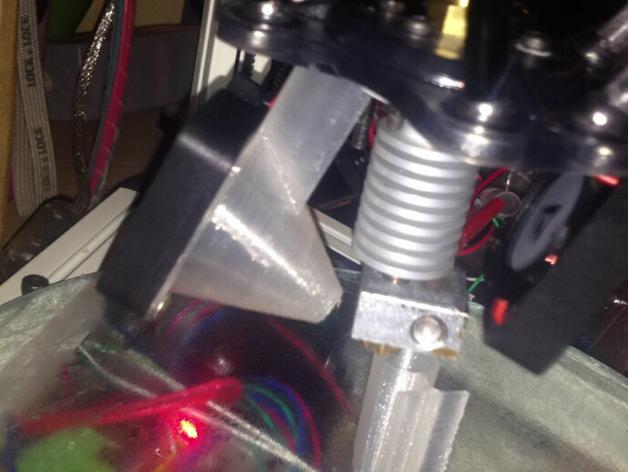 喷头散热导管 3D打印模型渲染图