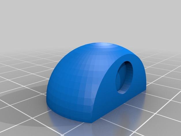 Duplicator 4S打印机的门框阻挡器 3D打印模型渲染图