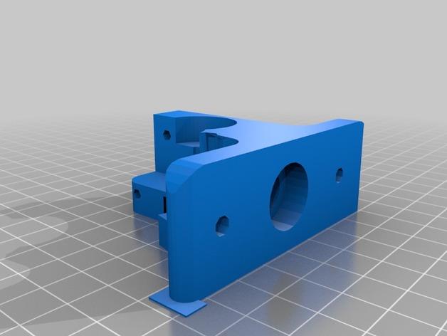 Greg's Wade挤出机的配件 3D打印模型渲染图