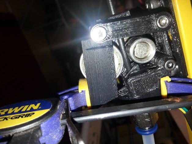 Bowden 挤出机扳机夹 3D打印模型渲染图