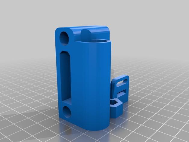 打印机X轴的惰轮 3D打印模型渲染图