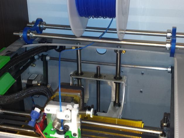 Solidoodle 3打印机的线轴支架 3D打印模型渲染图