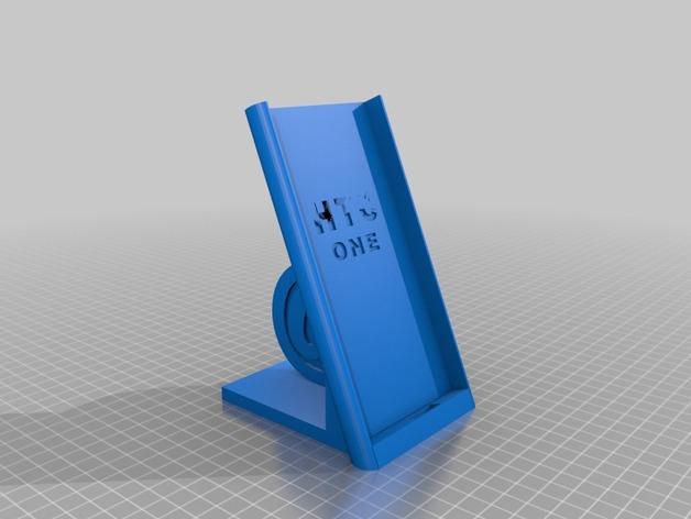 HTC-One_M8手机套 3D打印模型渲染图