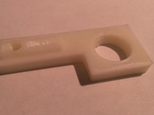 Prusa i3打印机的门锁开关支架 3D打印模型渲染图