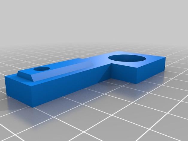 Prusa i3打印机的门锁开关支架
