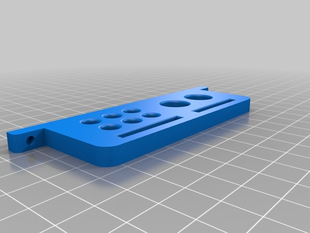 Uncia DLP 3D 打印机的配件 3D打印模型渲染图