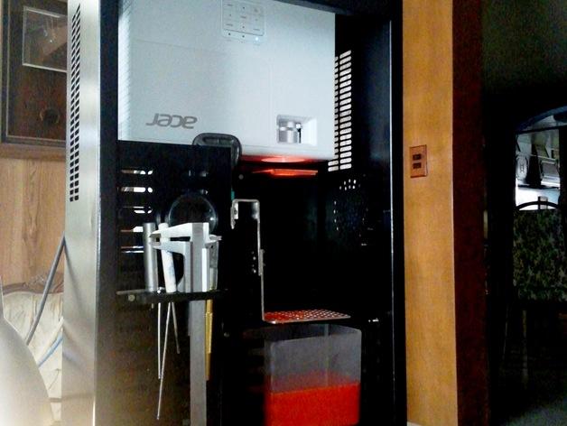Uncia DLP 3D 打印机的配件