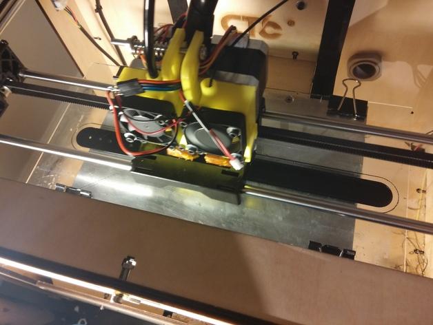 CTC replicator 双挤出机 3D打印模型渲染图
