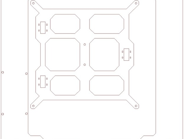 Prusa i3打印机框架