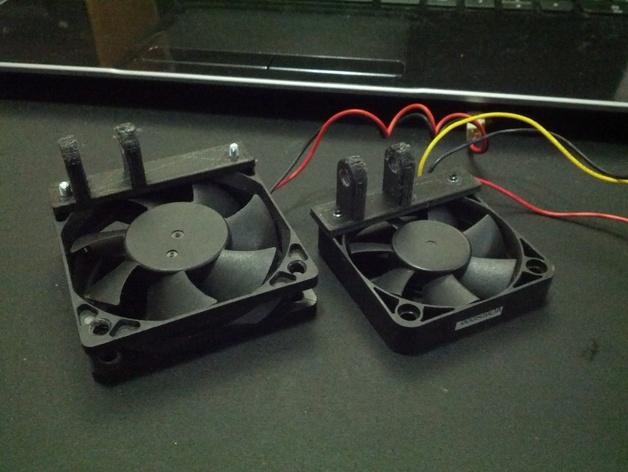 vellerman k8200 打印机的风扇支架