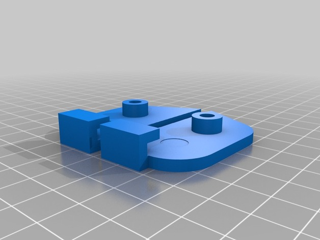 Prusa P3 打印机的螺杆固定板