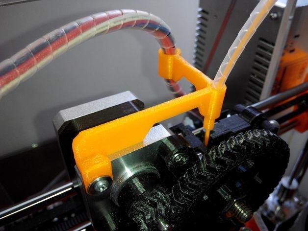 线材导轨 导线器 线材滤尘器 3D打印模型渲染图