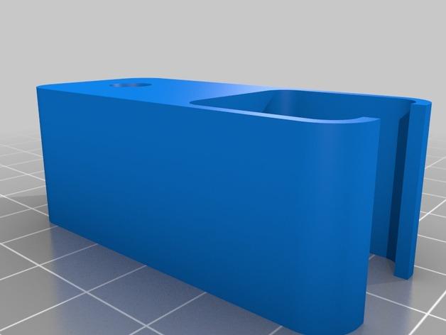 RigidBot打印机的导线器 3D打印模型渲染图