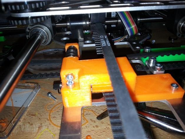 皮带惰轮 3D打印模型渲染图