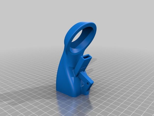 40毫米的风扇通风导管 3D打印模型渲染图