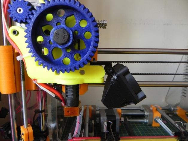 Prusa i3打印机的风扇通风导管
