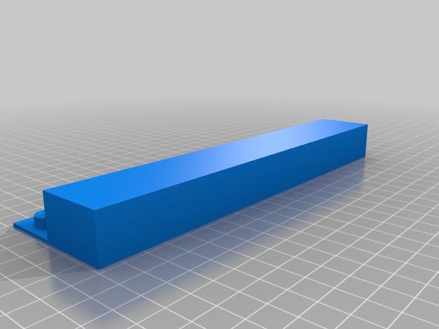 ROBO 3D打印机的垃圾箱 废弃箱 3D打印模型渲染图