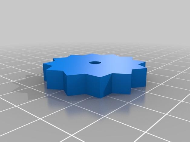 电路板显示屏保护罩 3D打印模型渲染图