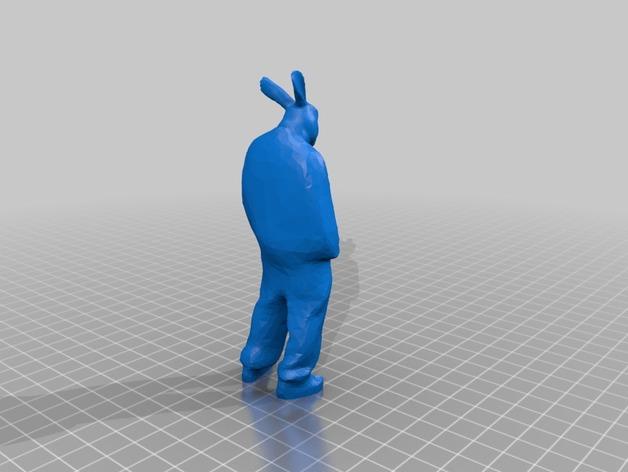 兔人 雕塑
