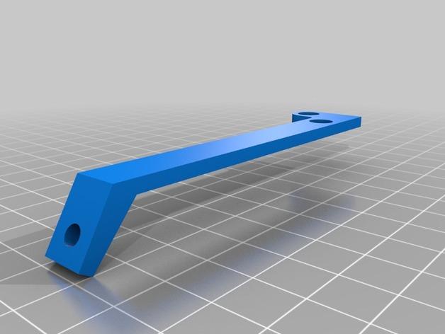 风扇支撑架 3D打印模型渲染图