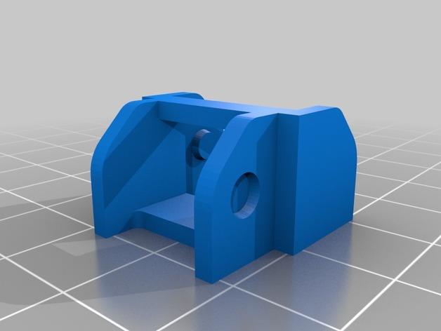 Prusa i3打印机的部件 3D打印模型渲染图