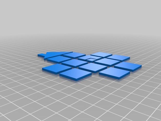 Sgrub 标志 3D打印模型渲染图