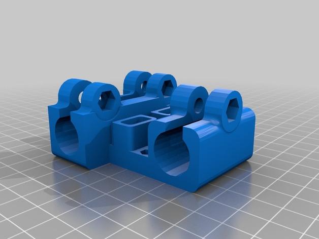 reprap prusa i3打印机X轴的部件