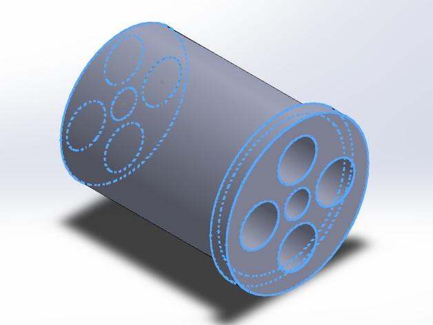 Rigidbot 打印机的线轴适配器