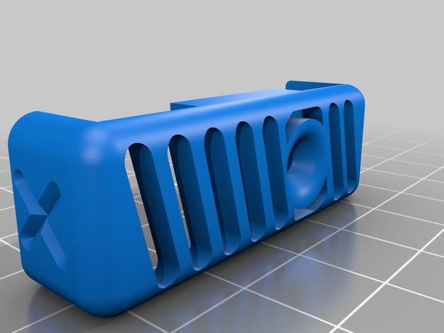 QU-BD Two Up / One Up打印机的线材导线器