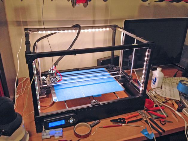 二极管固定夹 3D打印模型渲染图