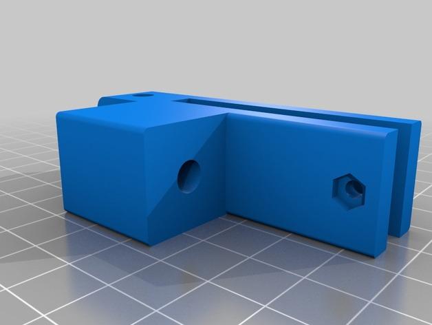 Prusa i3 打印机的撑脚和线轴支架