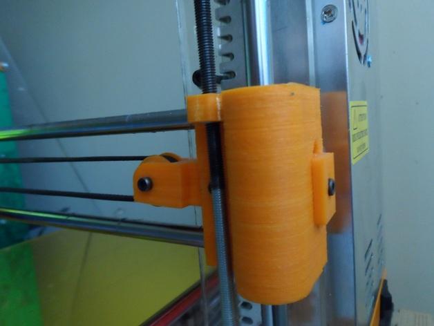 皮带张紧器 3D打印模型渲染图