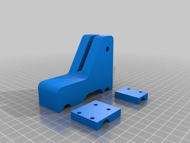 刻度盘指示器支架 3D打印模型渲染图