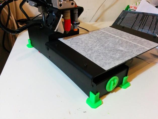 Printrbot Simple metal打印机的底垫 3D打印模型渲染图