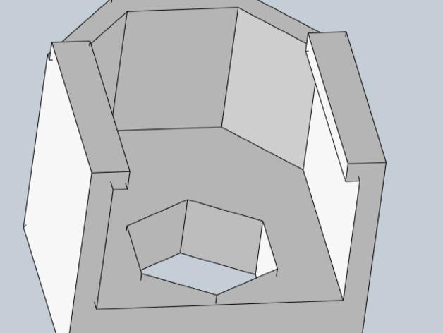 Prusa i3 y轴螺母支架