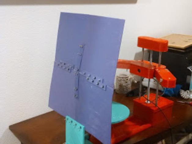 打印机的背景幕
