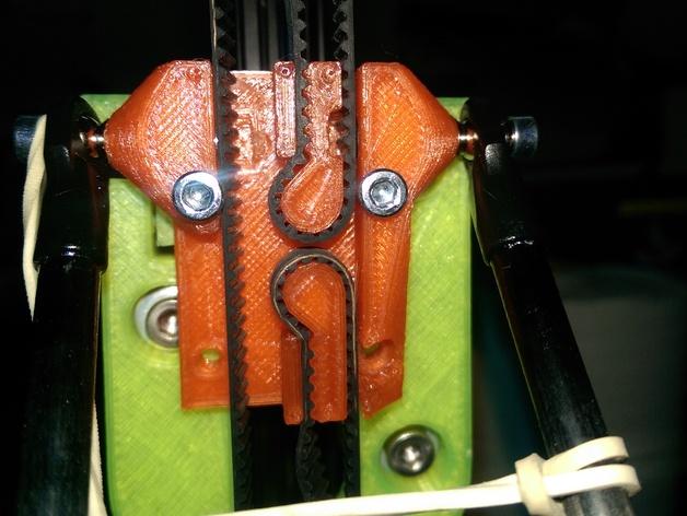 很坚固的皮带夹 3D打印模型渲染图