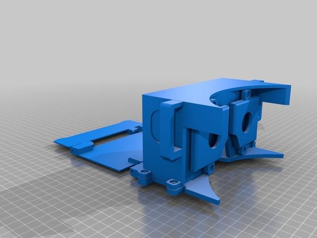 谷歌纸盒 3D打印模型渲染图