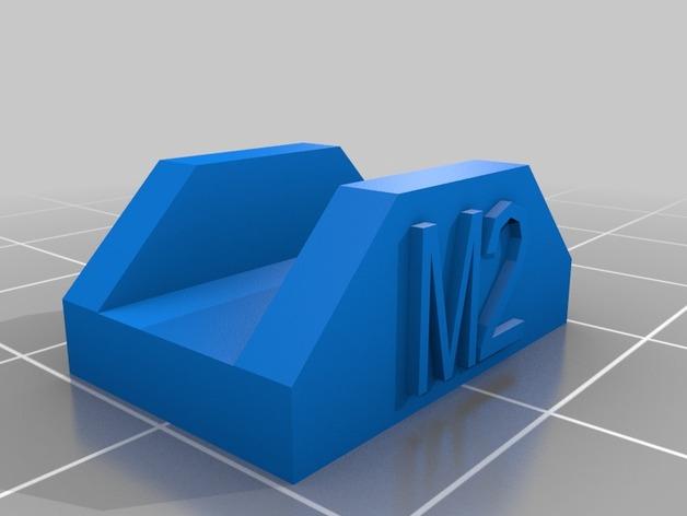 MakerGear M2打印机构建板固定夹