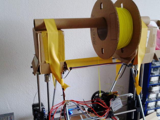 Mendel prusa i2打印机的线轴支架