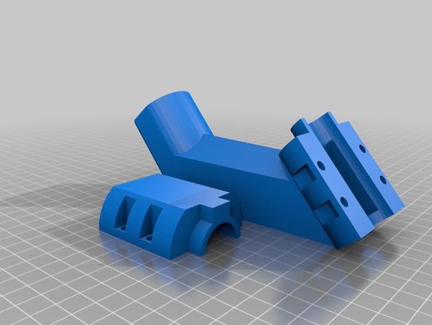 料斗进料器 3D打印模型渲染图