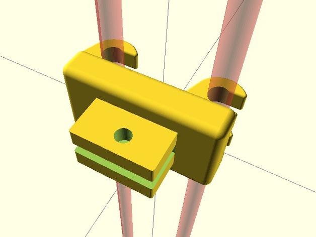 刻度盘指示器支撑架