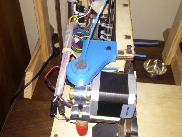 导线器 线材滤尘器 3D打印模型渲染图