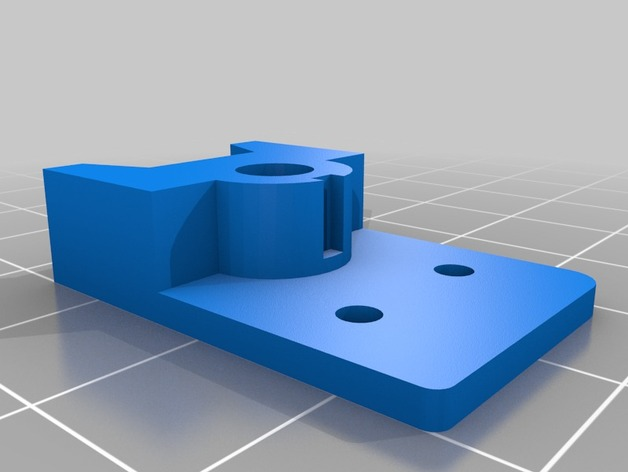 Prusa i3v适配器 3D打印模型渲染图
