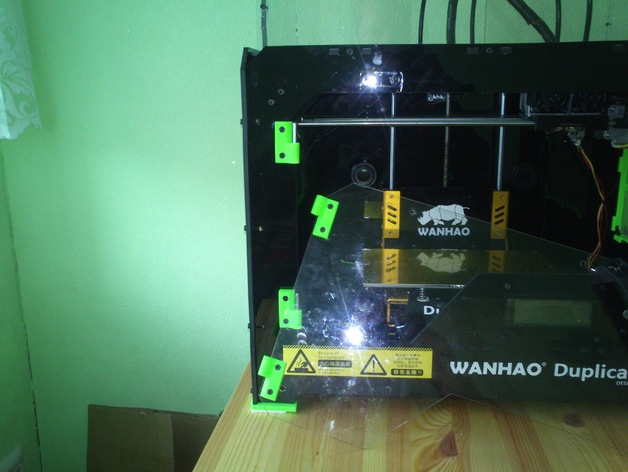 打印机前窗铰链 3D打印模型渲染图