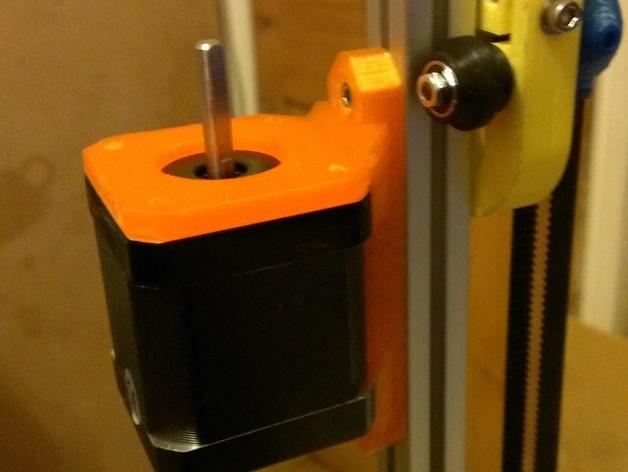 Nema17适配器 3D打印模型渲染图