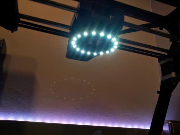 挤出器照明