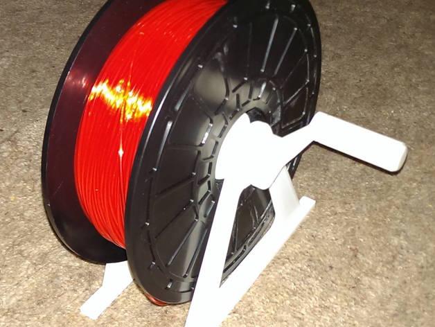 灯丝滚轴支架 3D打印模型渲染图