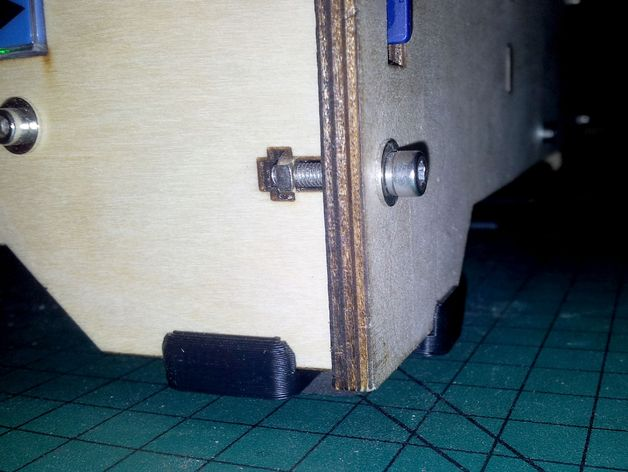 5mm厚板 3D打印模型渲染图